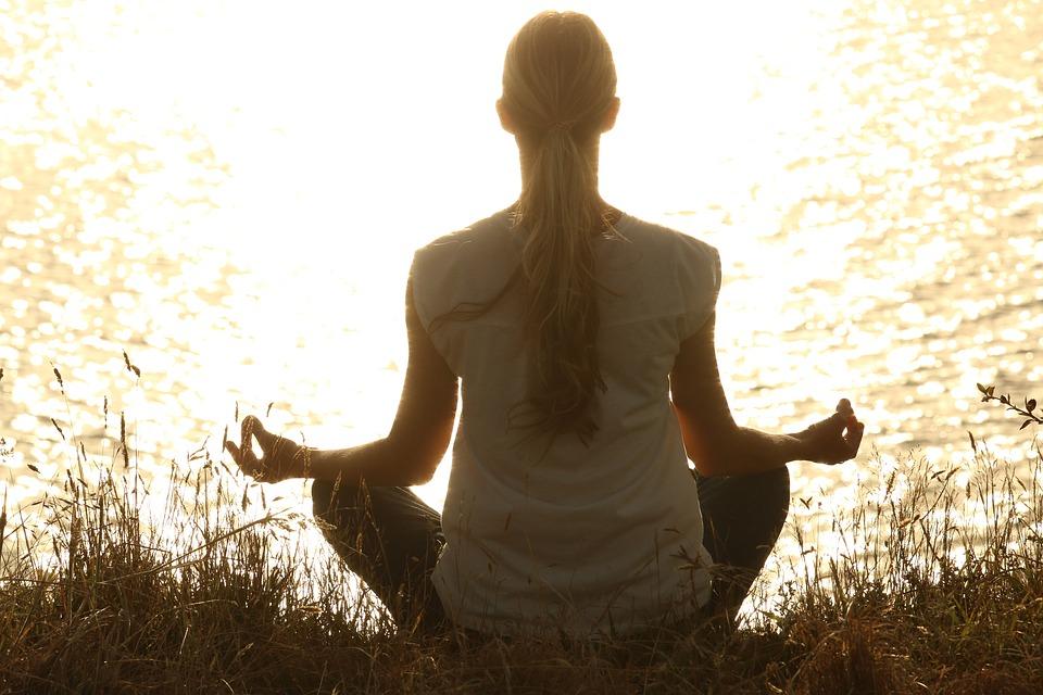 Yoga udendørs